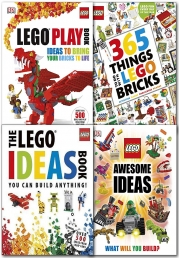 LEGO 4 Books Collection Set Children Activities Books LEGO Games Photo